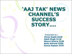 AAJ TAK NEWS CHANNELES SUCCESS STORY