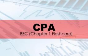 CPA - BEC Chapter 1 Flashcard