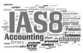 IAS 8 Accounting Policies, Changes in Accouting Estimates and Errors
